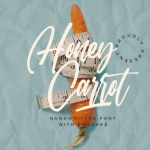 Honey Carrot Handwritten Font