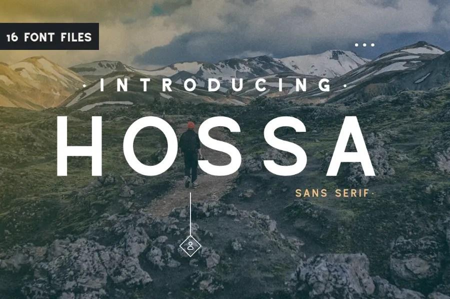 Hossa Sans Serif Font-2