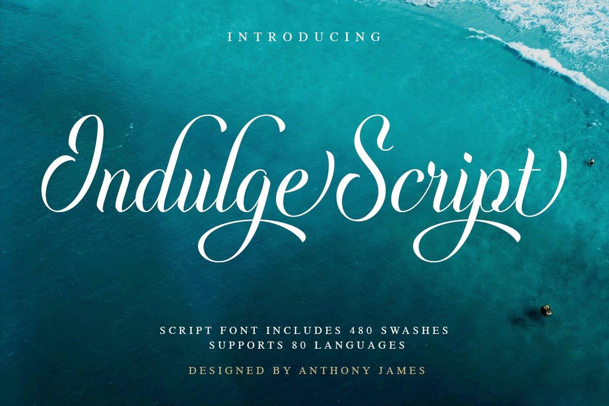 Indulge Script CalligraphyFont-1