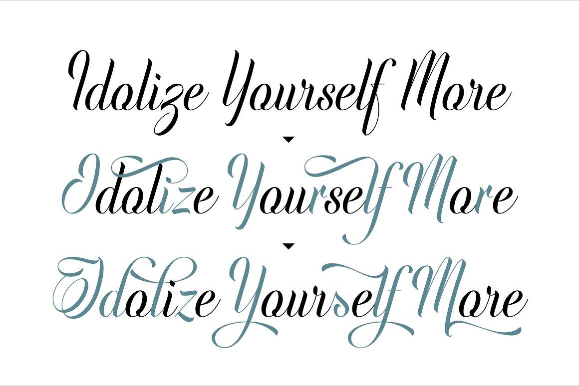 Indulge Script CalligraphyFont-3