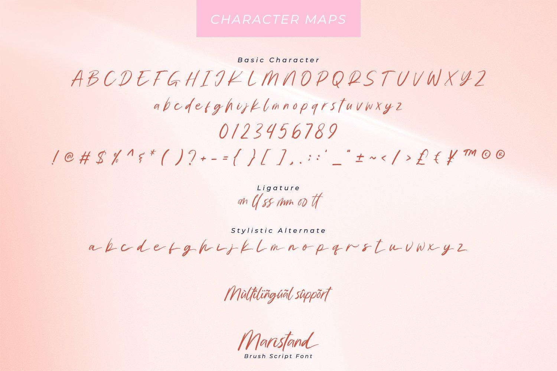 Maristand Beautiful Brush Font-3
