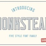 Monkstead Font
