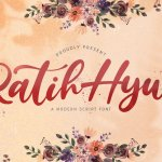 Ratih Hyun Lovely Calligraphy Font