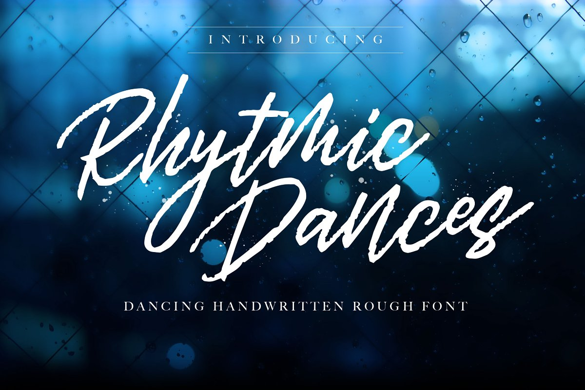 Rhytmic Dances Handwritten Font-1