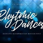 Rhytmic Dances Handwritten Font