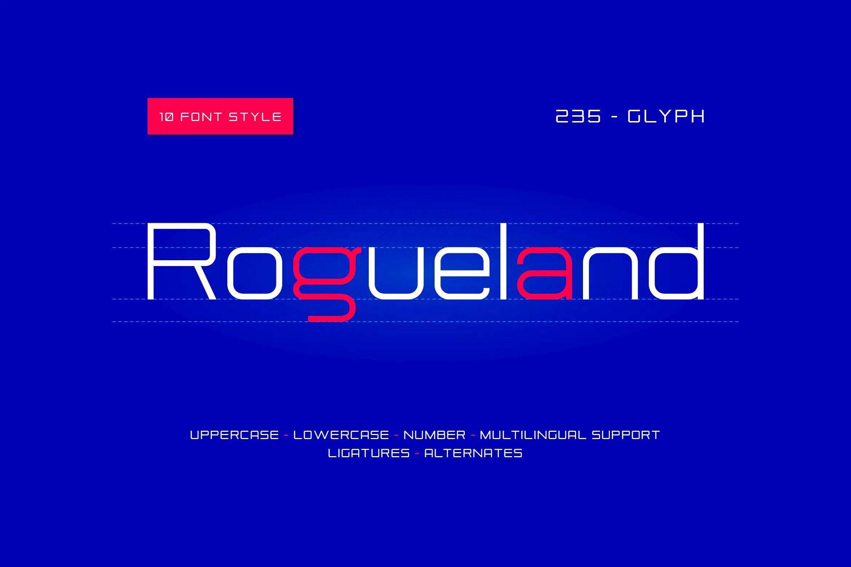 Rogueland Sans Serif Font-2