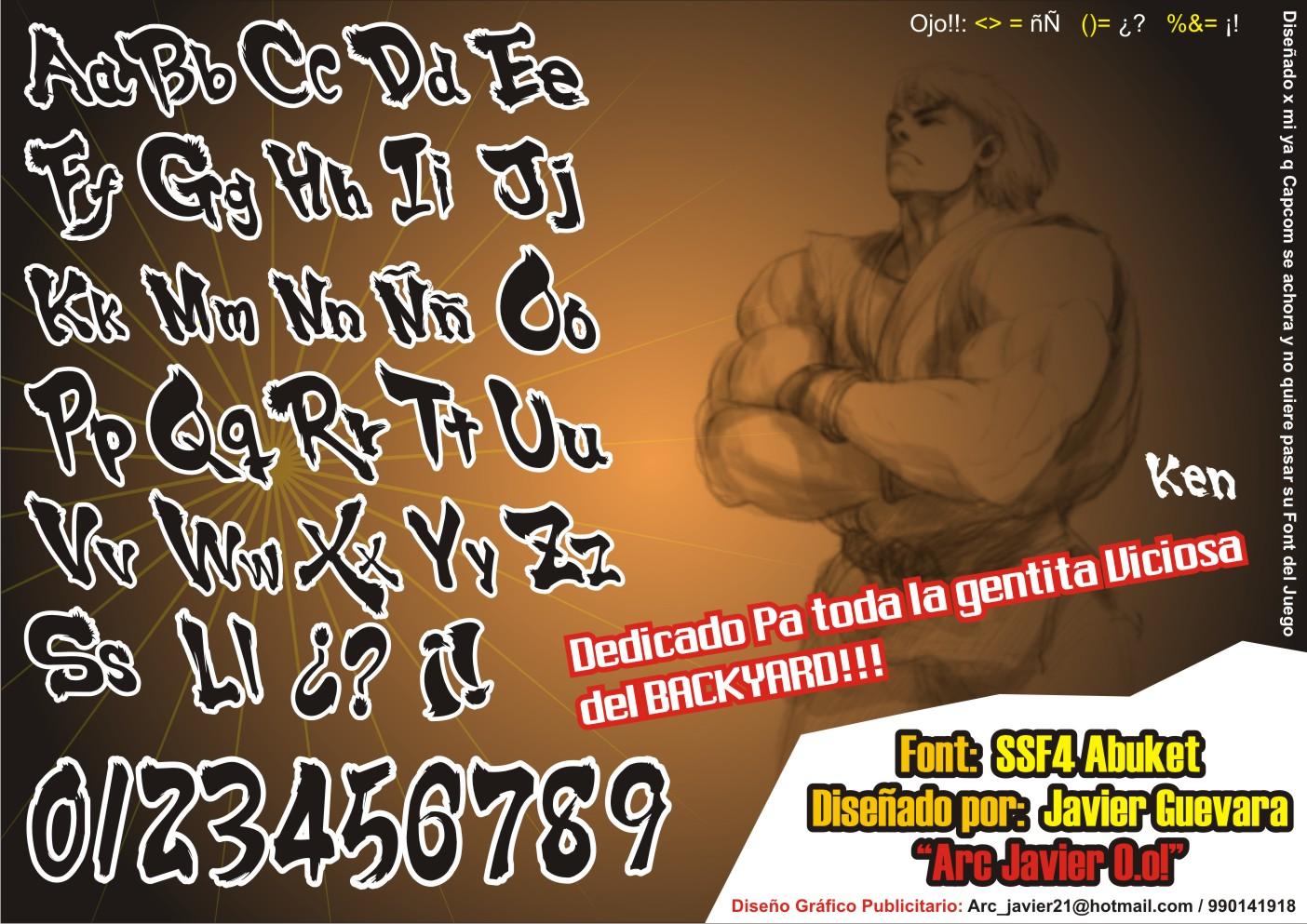 SSF4 Abuket Script Font -2