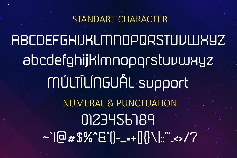 Soularic Futuristic Font Family-3