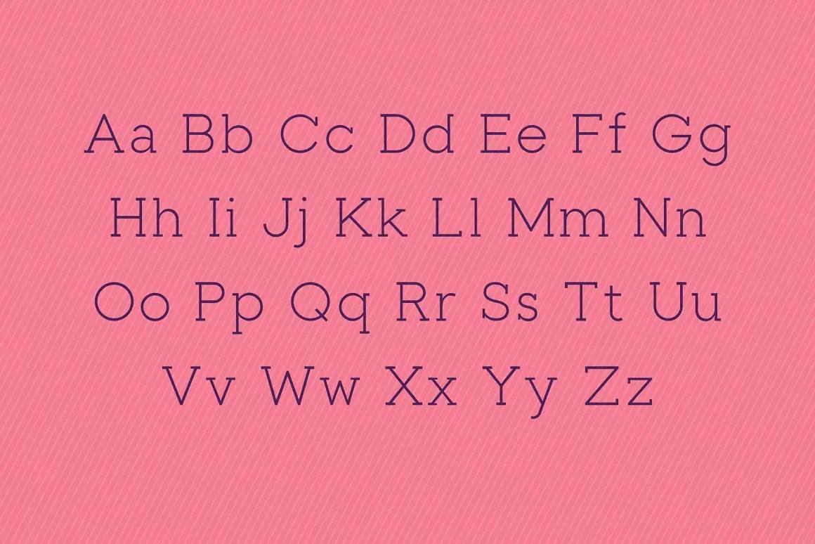 Toma Slab Serif Font-3