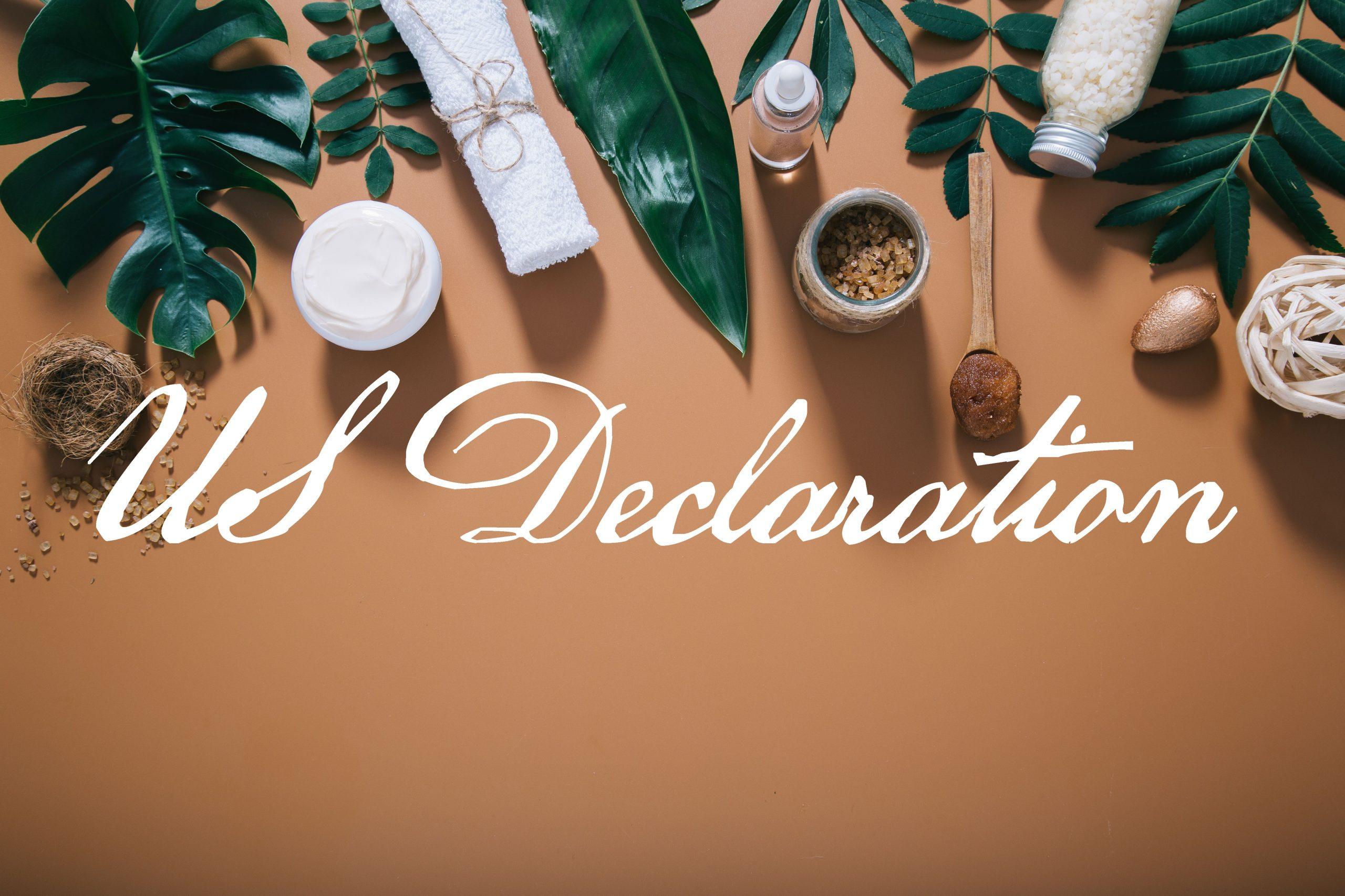 US Declaration Calligraphy Font-1