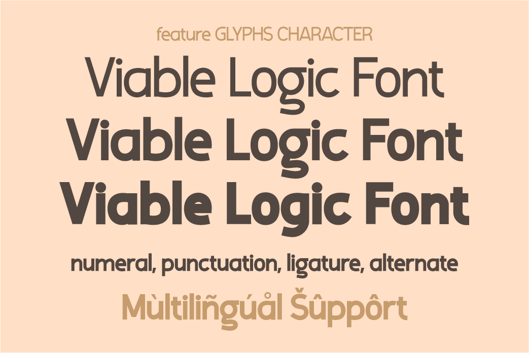 Viable Logic Sans Serif Font-3