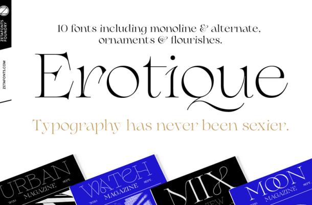 Erotique Font Free