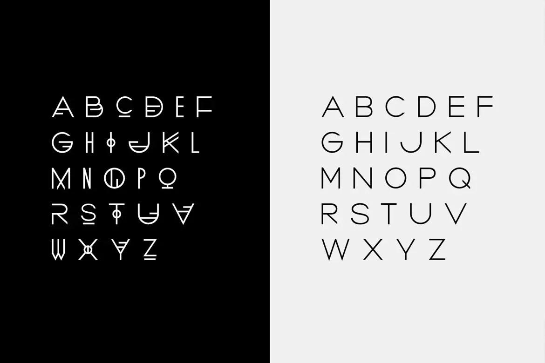 BORDEAUX Hybrid Display Typeface -3