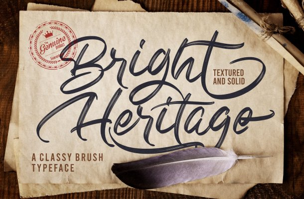 Bright Heritage Font
