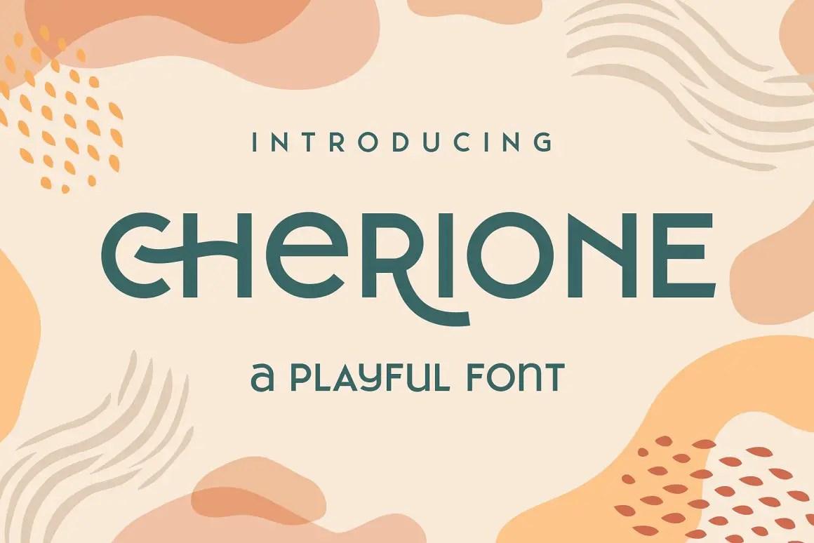 Cherione Sans Serif Font Family -1
