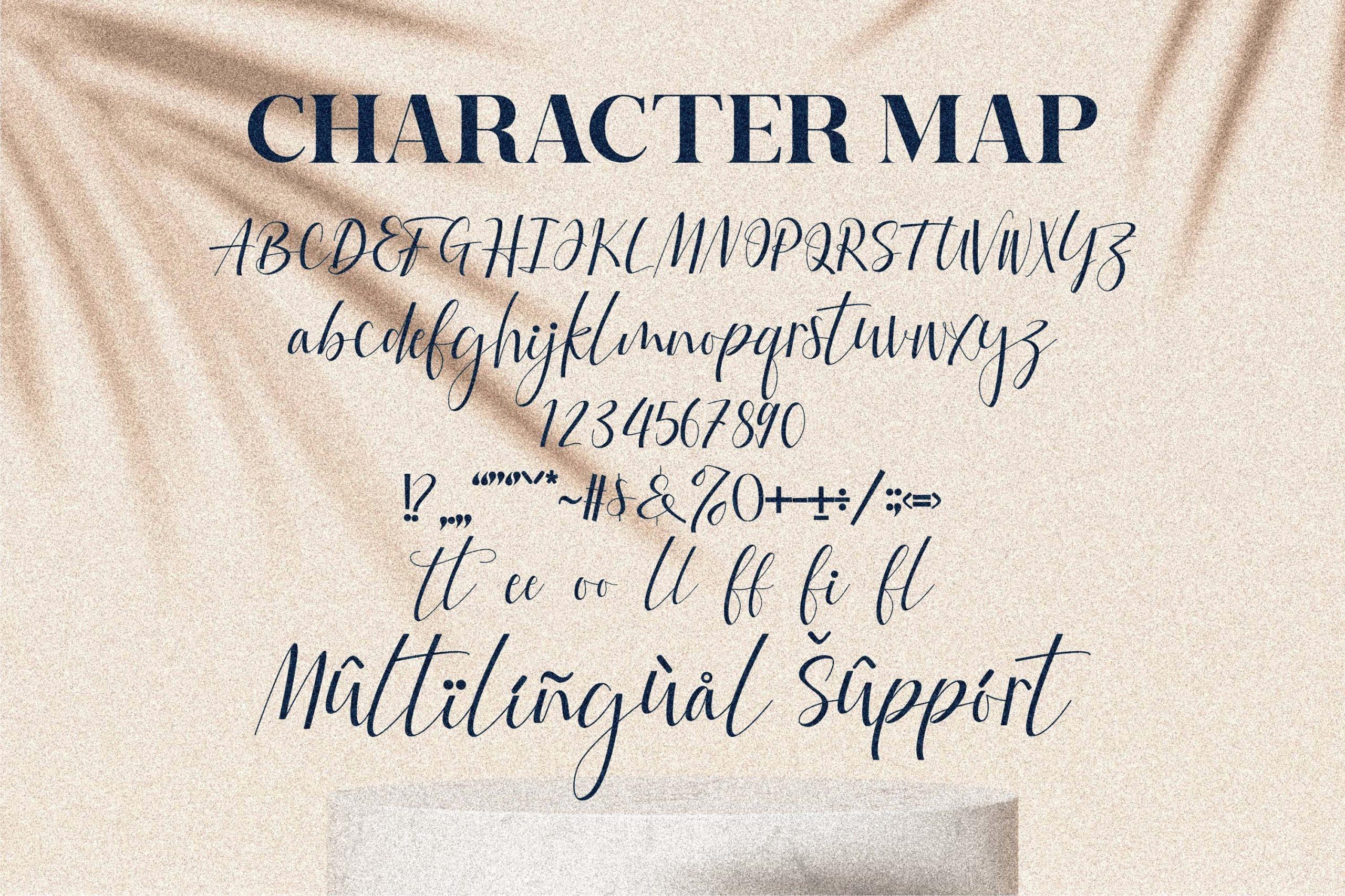 Fattia Beautiful Script Font -3
