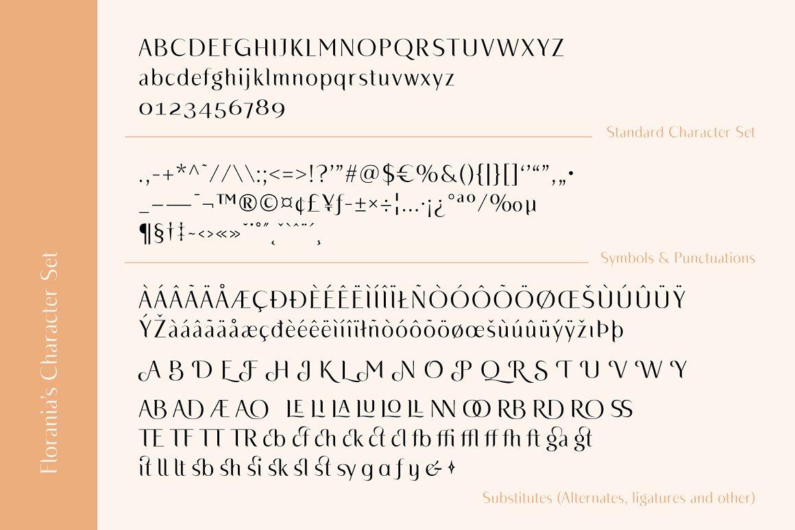Florania Elegant Serif Font -3