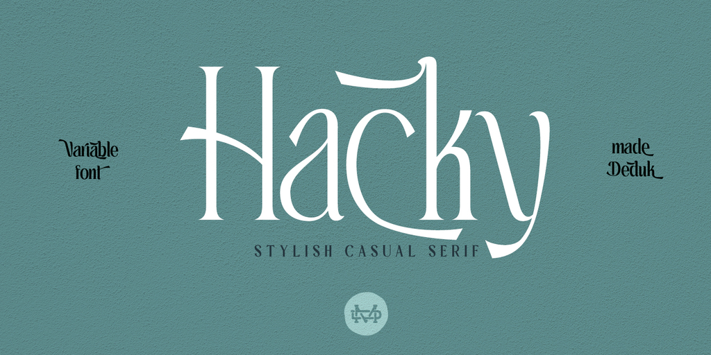 Hacky Luxury Serif Font Family -1