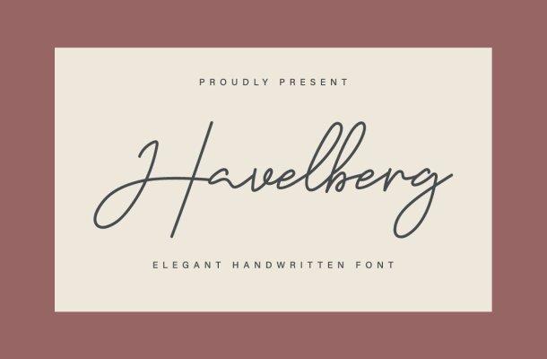 Havelberg Font