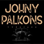 Johny Palkons Font