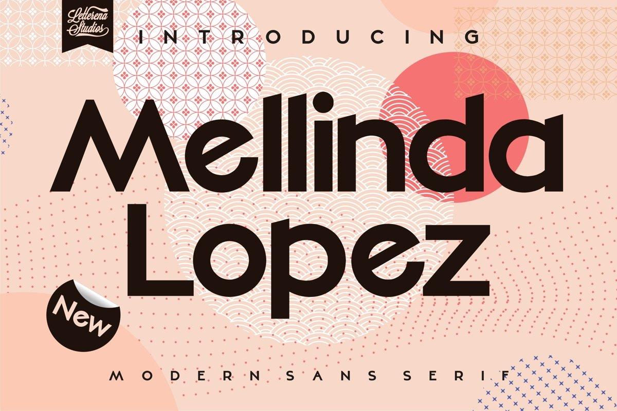 Mellinda Lopez Modern Sans Serif Font -1