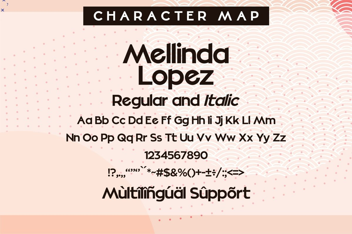 Mellinda Lopez Modern Sans Serif Font -3