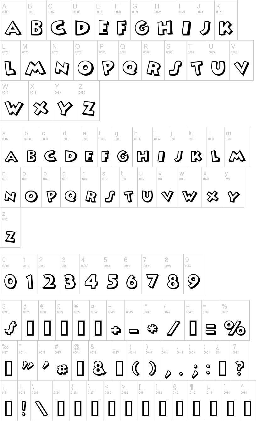 Mickey Fancy Font-2