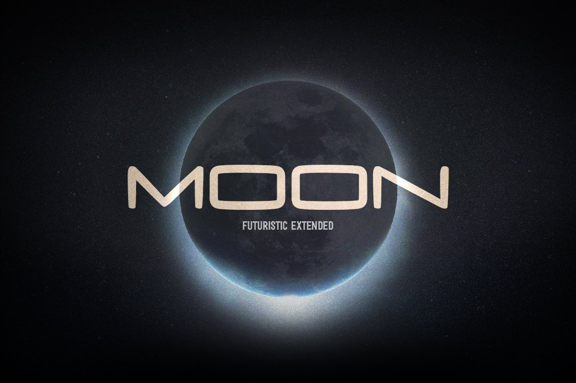 Moon Futuristic Display Font-1