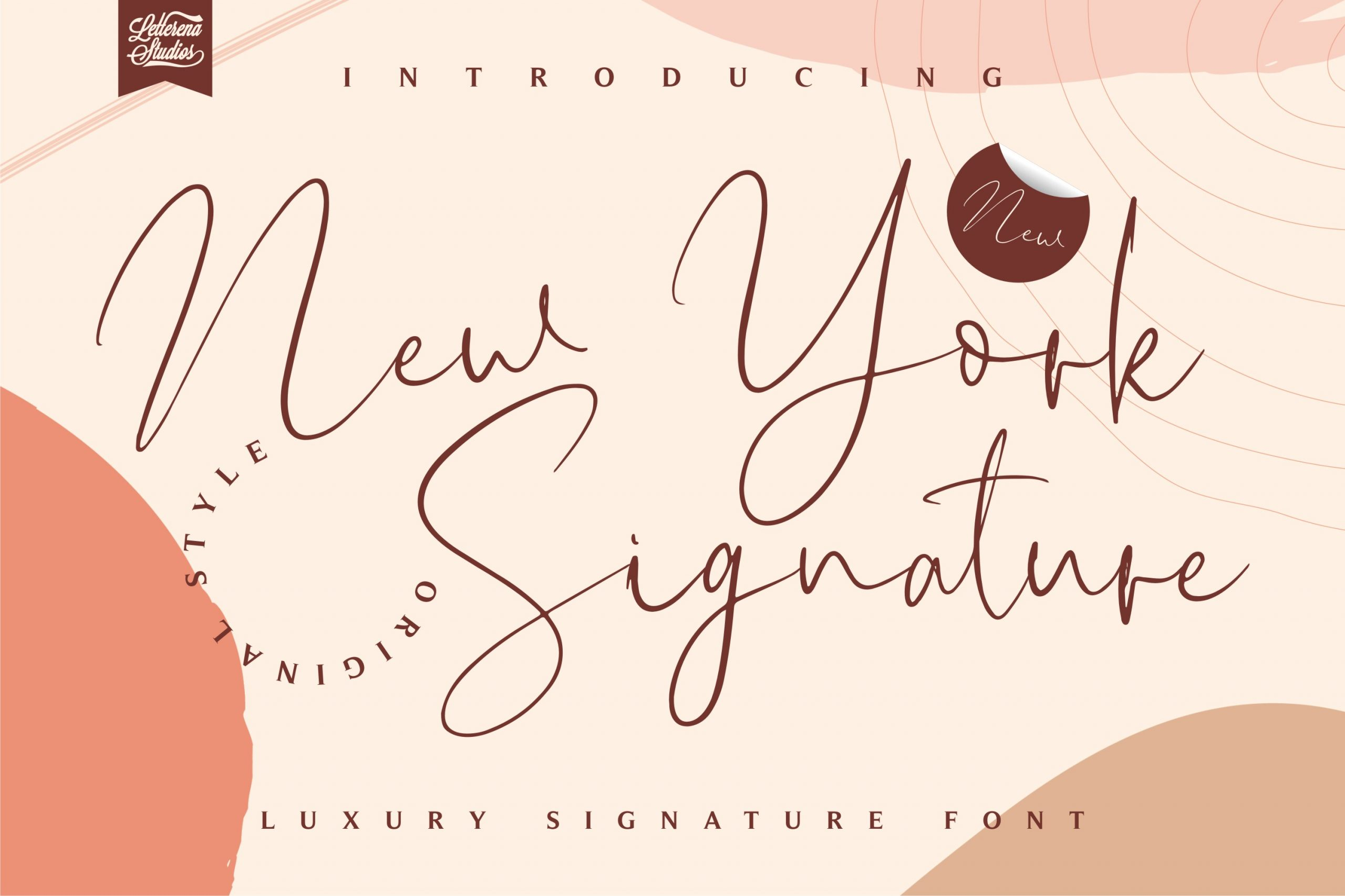 New York Signature Luxury Signature Font-1