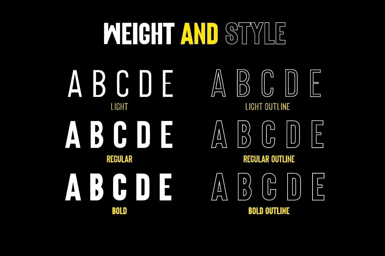 Origin Bold Retro Sans Serif Font -3