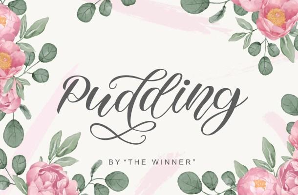 Pudding Font