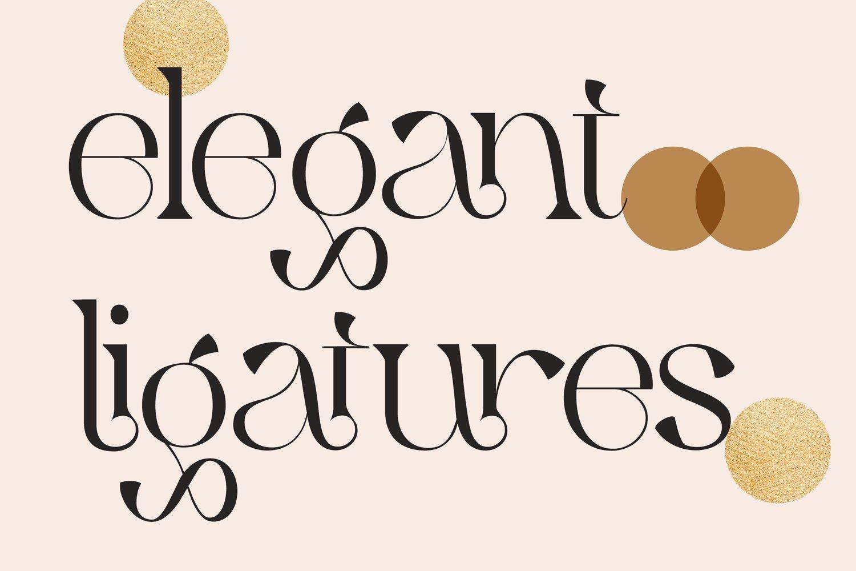 Qaitan Modern Serif Font -2