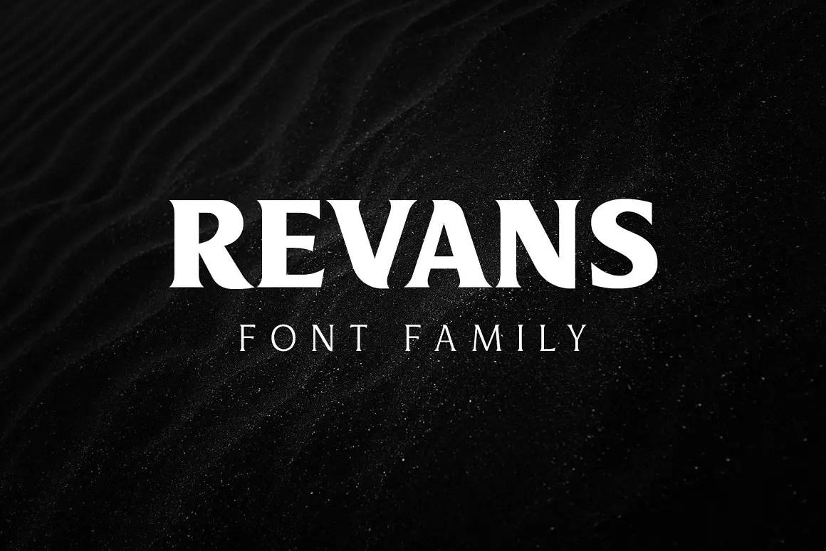 Revans Serif Font Family -1