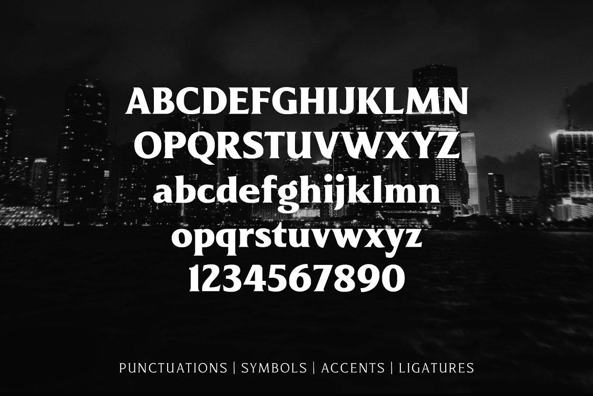 Revans Serif Font Family -3