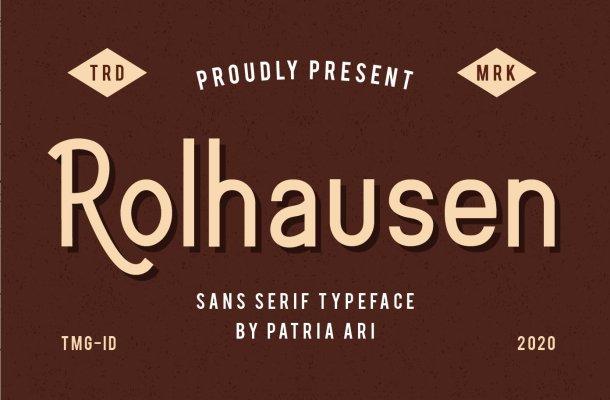 Rolhausen Font