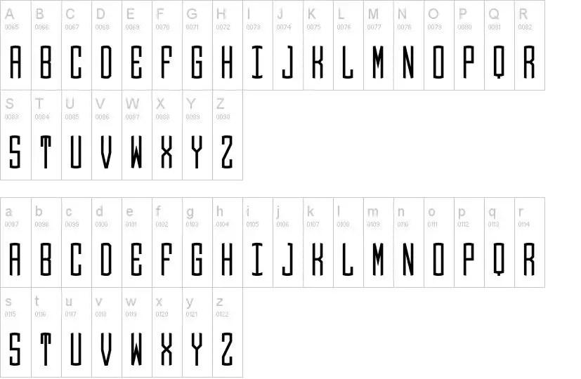 Round Monogram Fancy Font-3