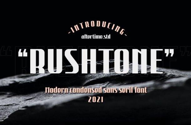 Rushtone Font