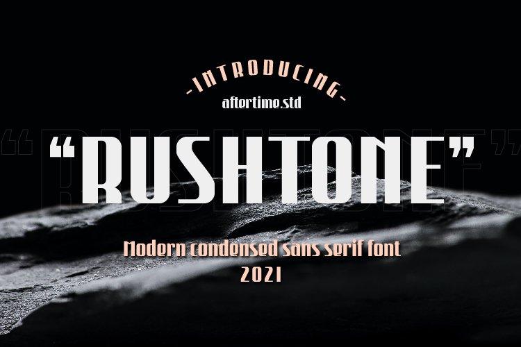 Rushtone Modern Sans Serif Font -1