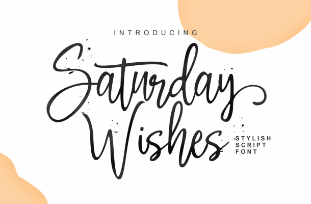 Saturday Wishes Font