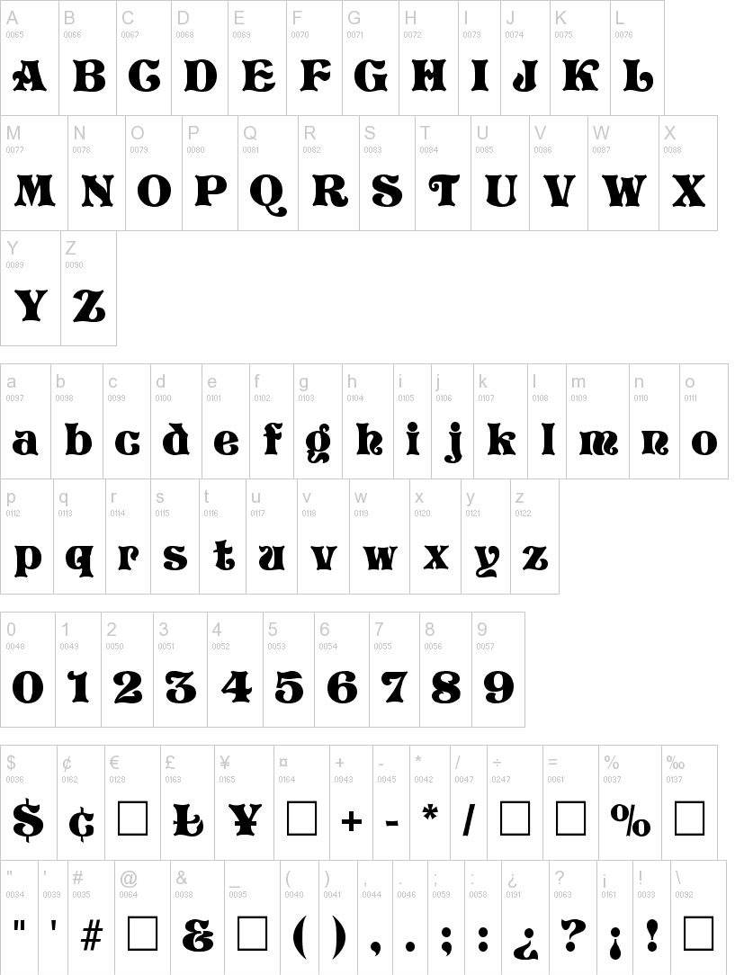 Storybook Fancy Font -2