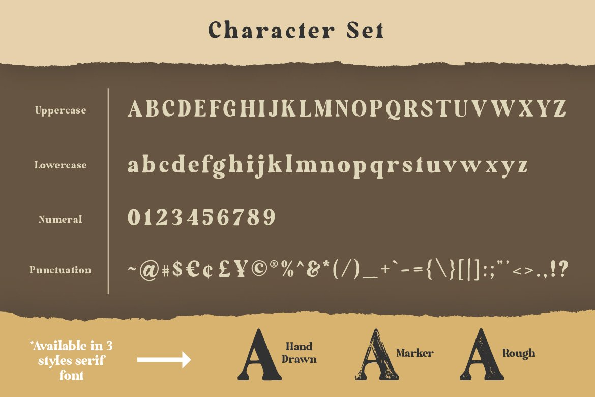 The Artisan Hand Drawn Font Duo-3