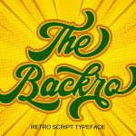 The Backro Font