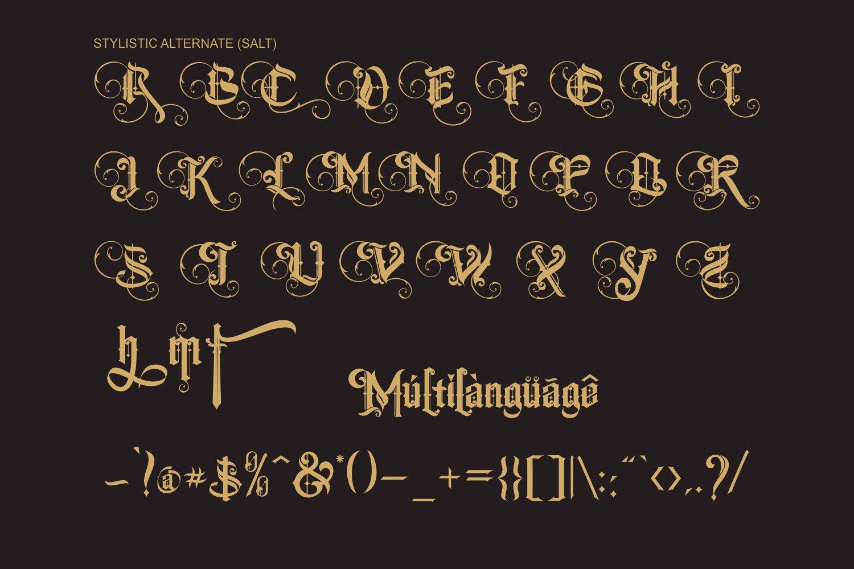 The Centurion Font -3
