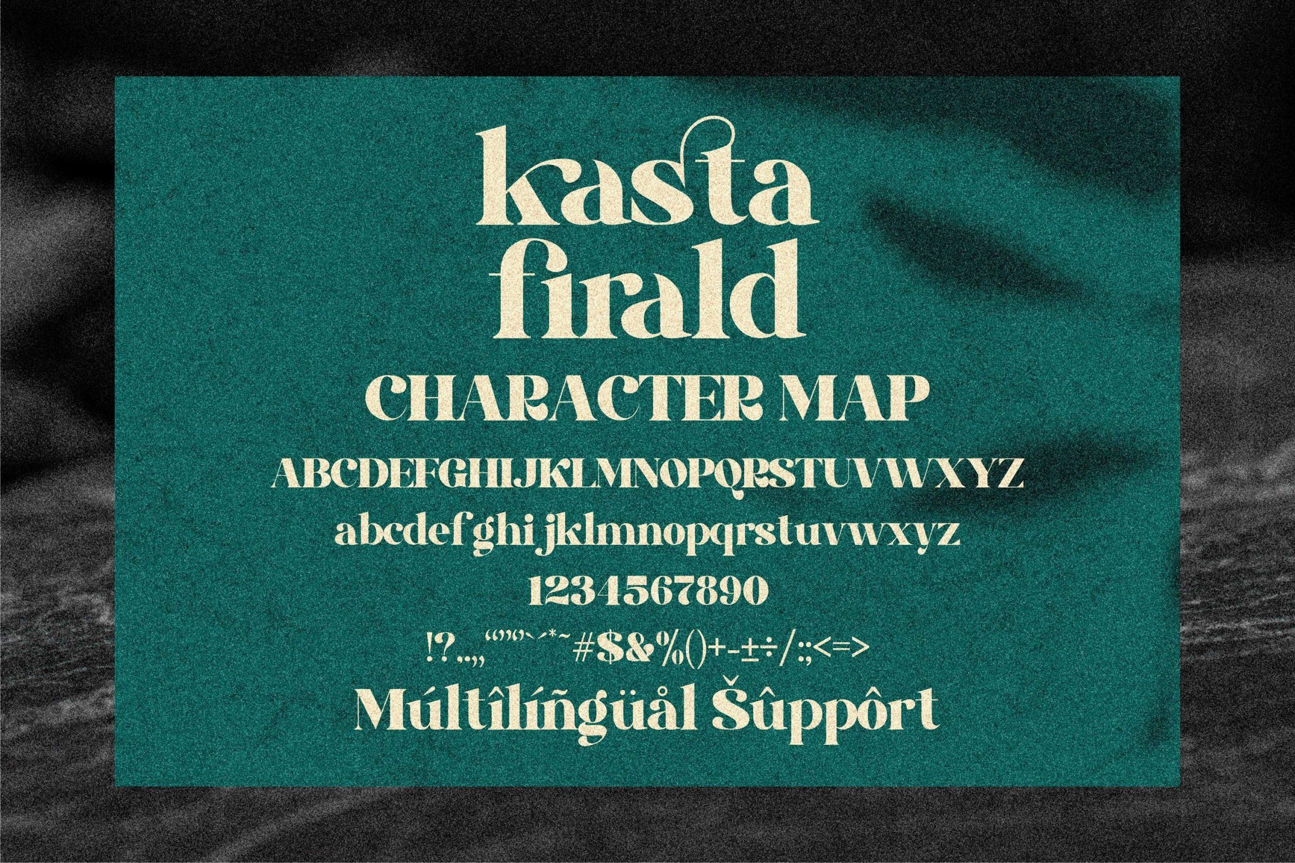kasta firald Luxury Serif Font -3