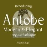 Antobe Font
