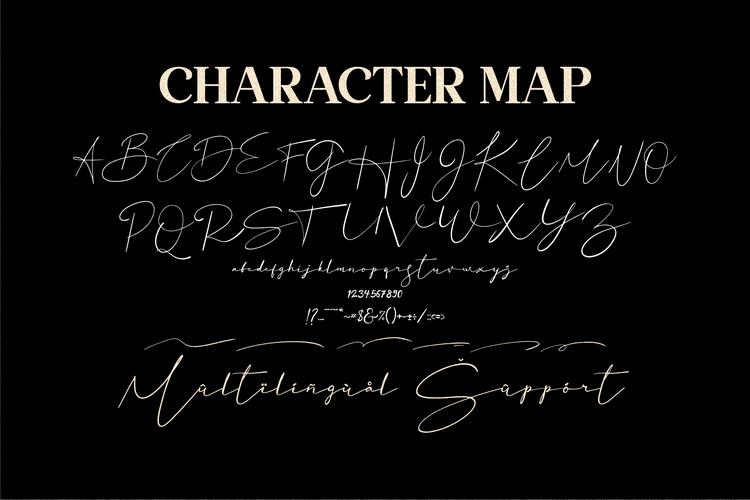 Basstian Handwritten Script Font -3
