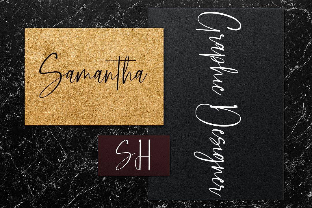 Bestand Script Handwritten Font -3