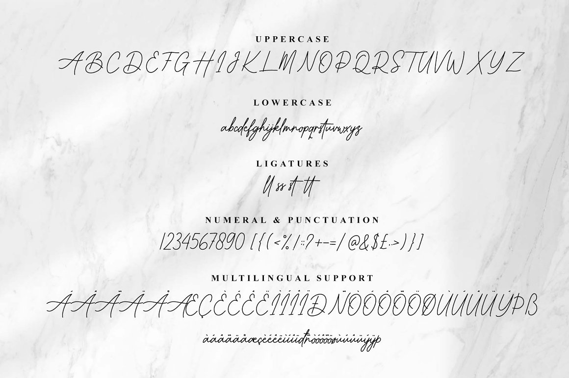 Better Grade Handwritten Font -3