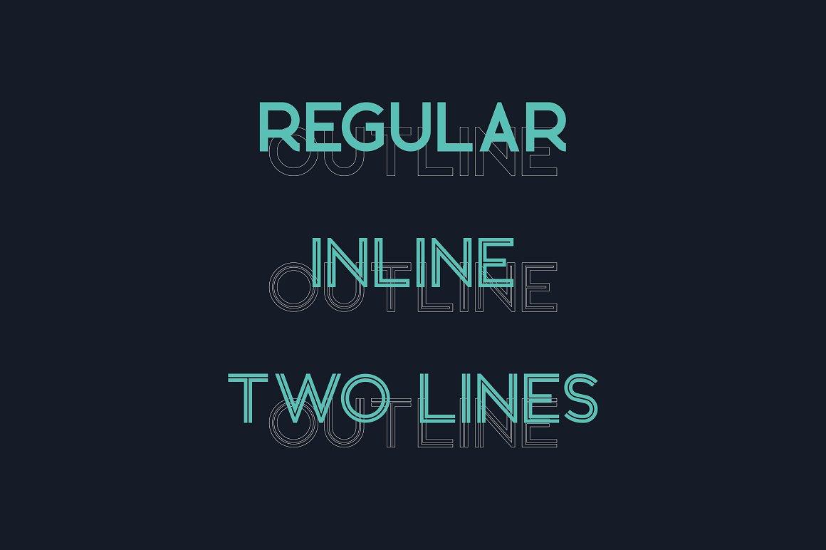 BronxSans Serif Typeface -2