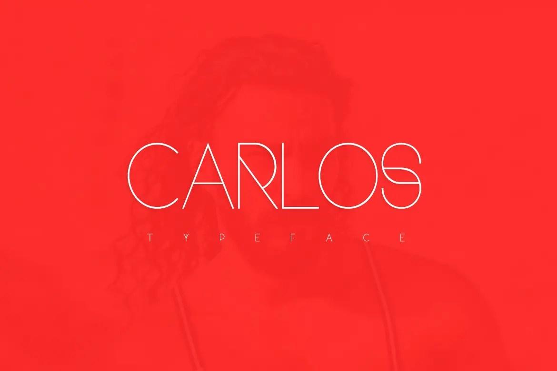 Carlos Sans Serif Font -1